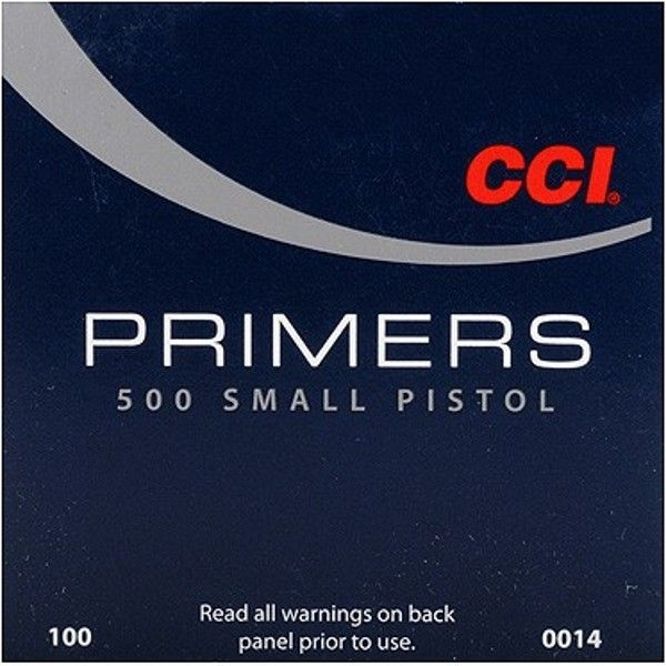 CCI Small Pistol