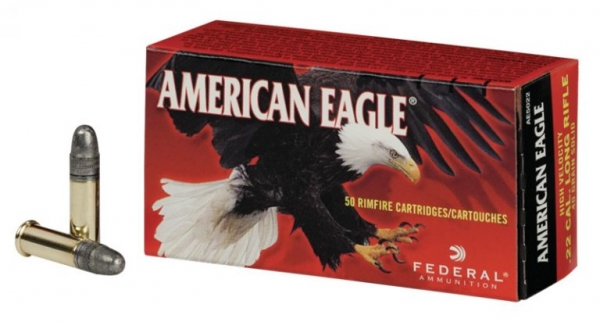 American Eagle Caliber .22LR (AE5022) High Velocity