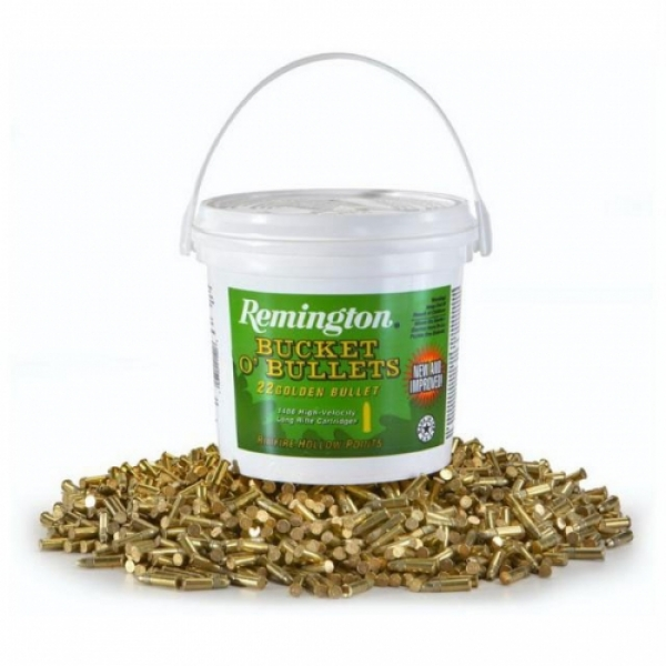 Remington Bucket O' bullets .22LR High velocity
